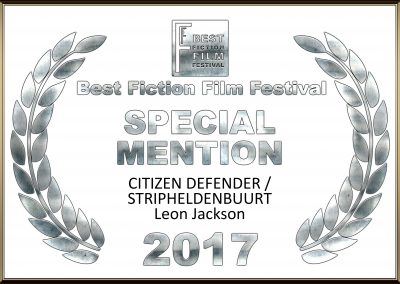 Special Mention Award BFFF